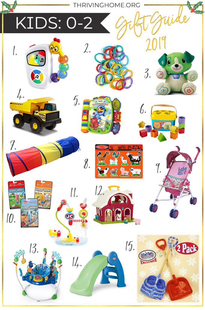Kids Gift Guide 0-2
