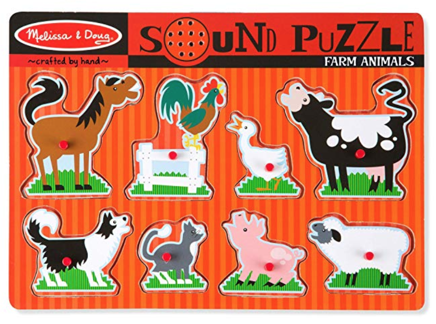 Sound puzzles - gift idea for babies and toddlers