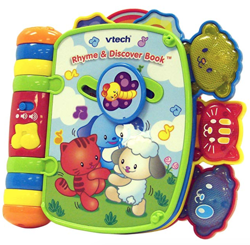 VTech Rhyme and Discover Book - gift idea for 0-2 year old