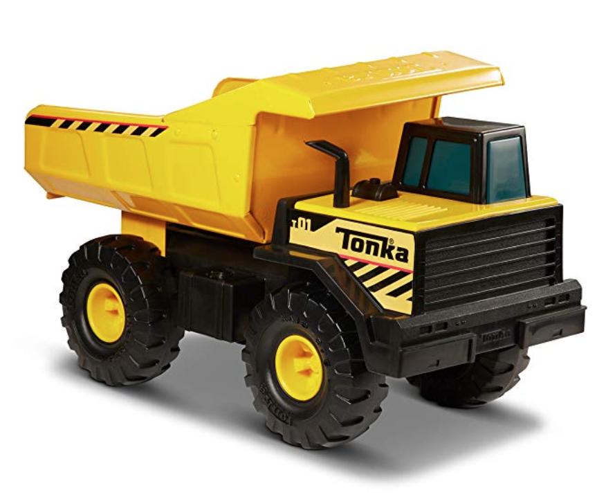 Metal Dump Truck - gift idea for toddler boy