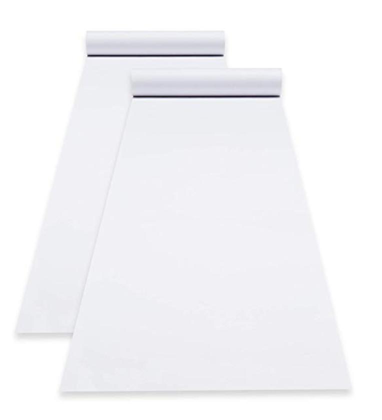 Rolls of white paper