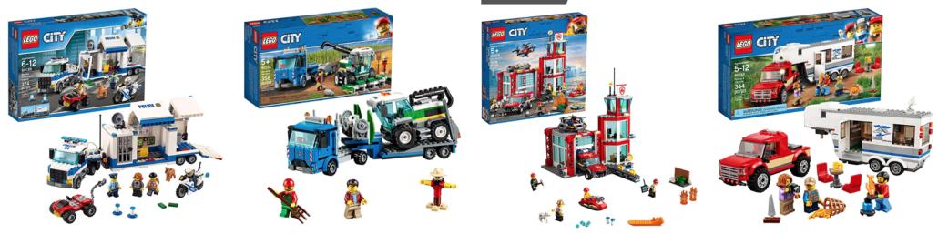 Lego City Lego Sets