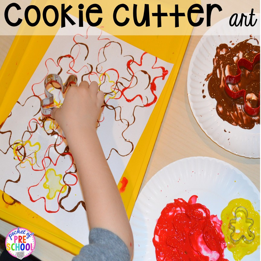 cookie cutter Christmas art