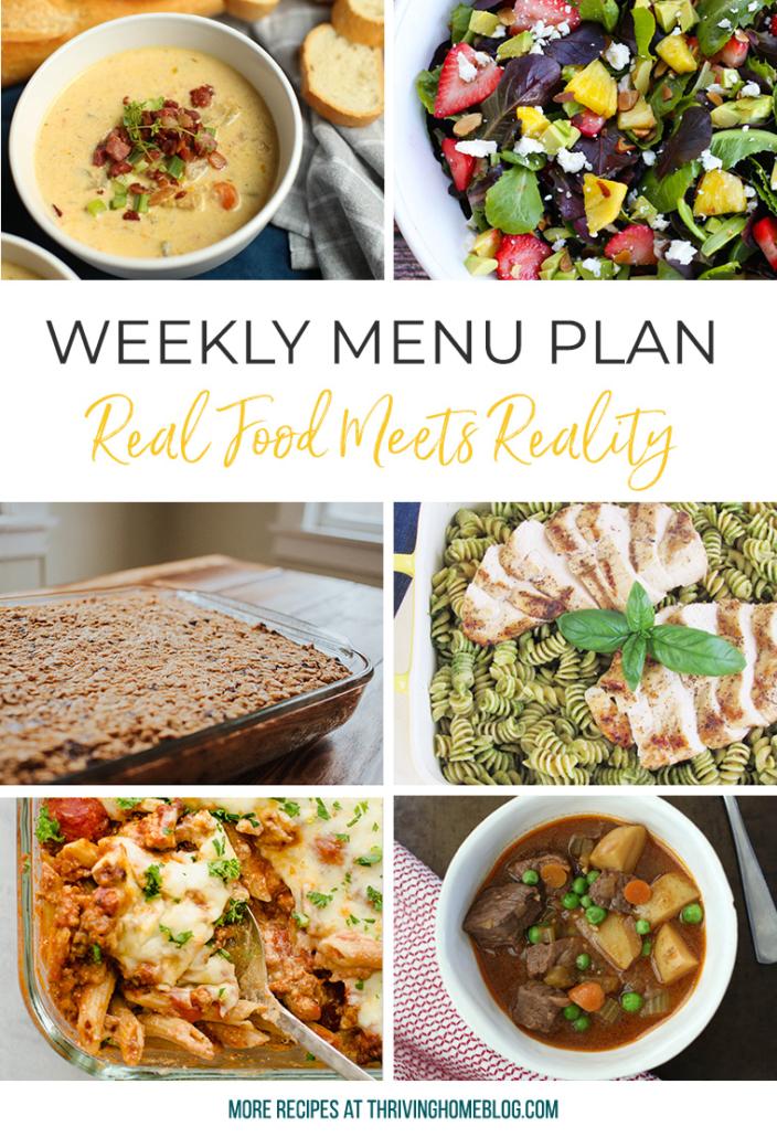 #mealplanning #menuplan #healthymeals #familymealplan #realfoodmenu