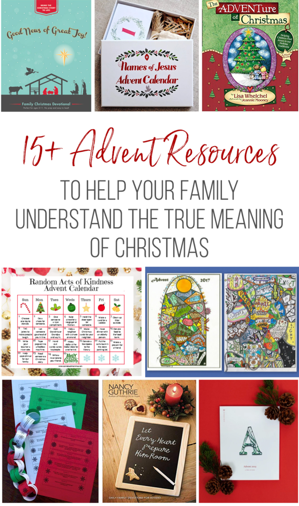15+ Advent Resources for families