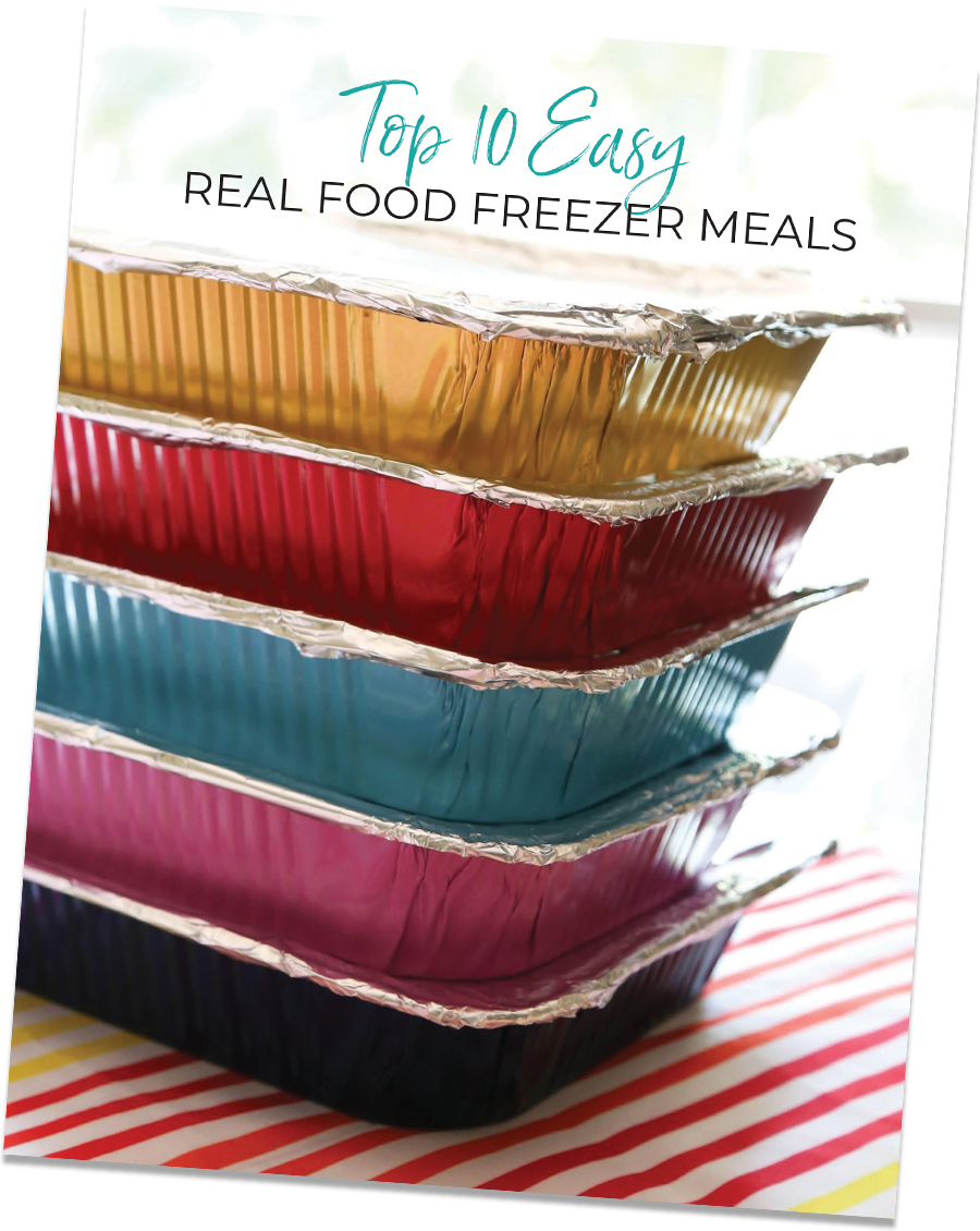 Top 10 Easy Freezer Meals eBook