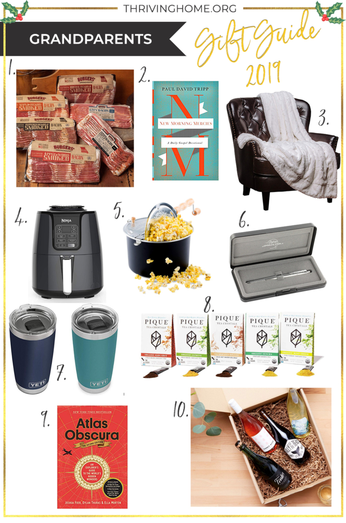 gift guide gift ideas for grandparents