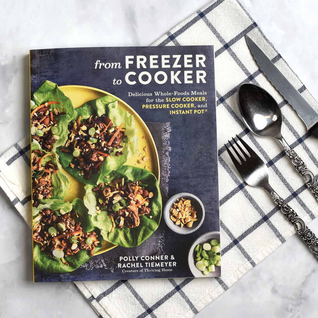 From Freezer to Cooker Cookbook