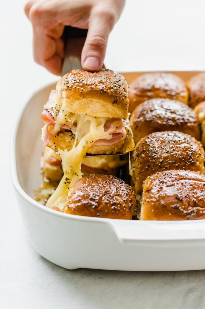 Freezer meal: Ham & Cheese Sliders