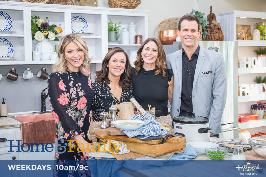 Polly Conner and Rachel Tiemeyer on Hallmark Channel