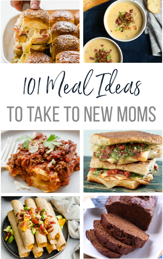 Meal ideas for new moms