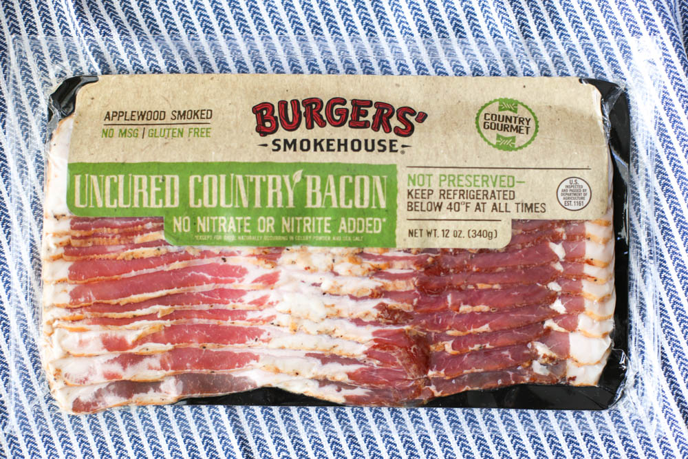 Burgers' Smokehouse Uncured Bacon package