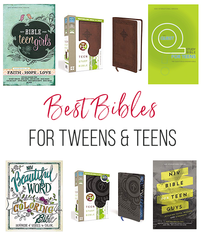 Best Bibles for Tweens and Teens