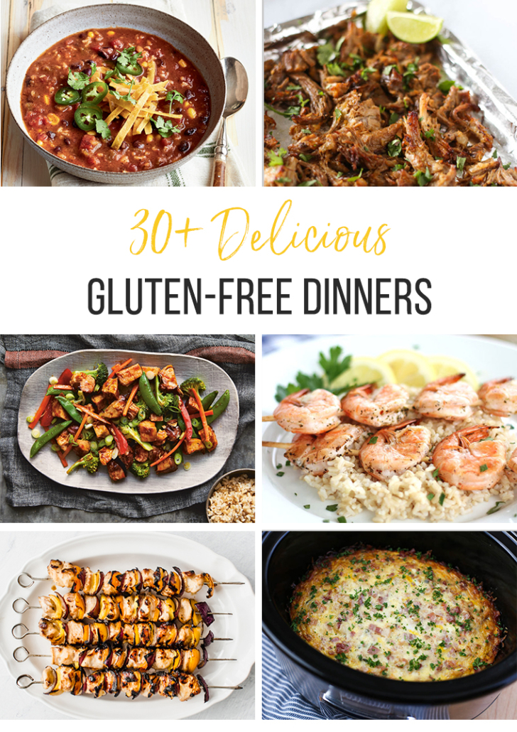 images of gluten-free dinner recipes