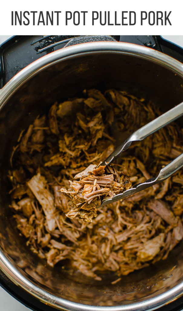 Pulled pork in the instant pot