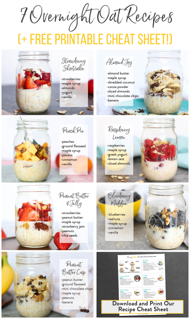 7 Overnight Oats Recipes