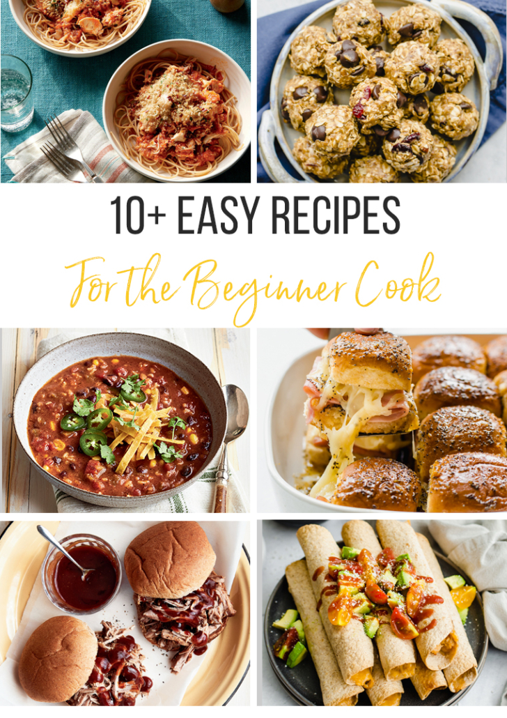 10 easy recipes for beginner cooks
