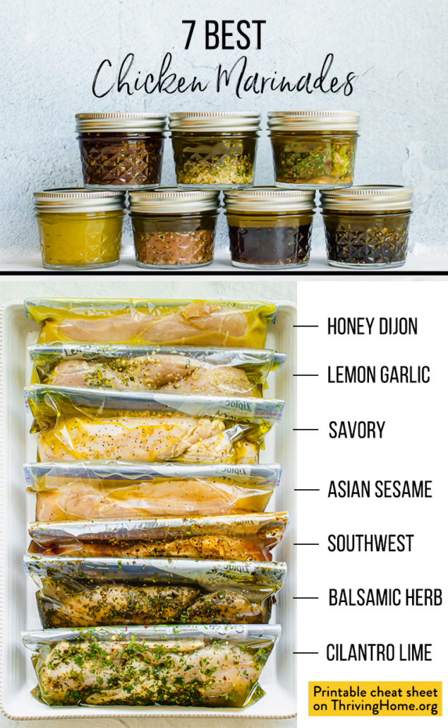 7 chicken marinades