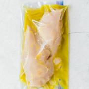 chicken breasts in honey dijon marinade in freezer bag