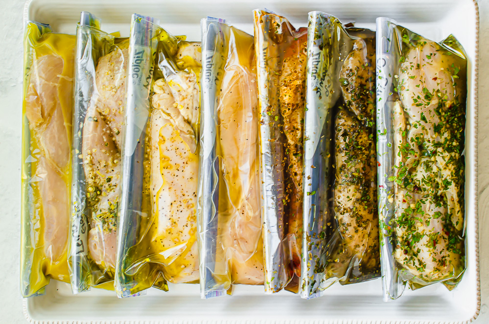 marinades for chicken breasts in freezer bags