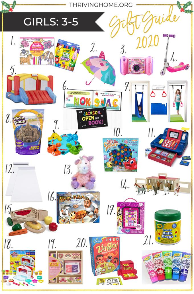 2020 gift guide for preschool girls