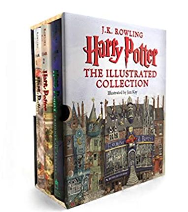 Illustrated Harry Potter Series