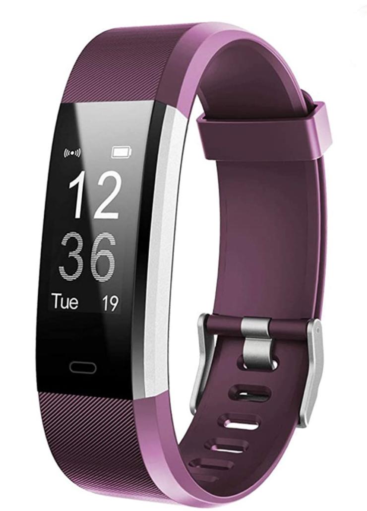 Purple fitbit