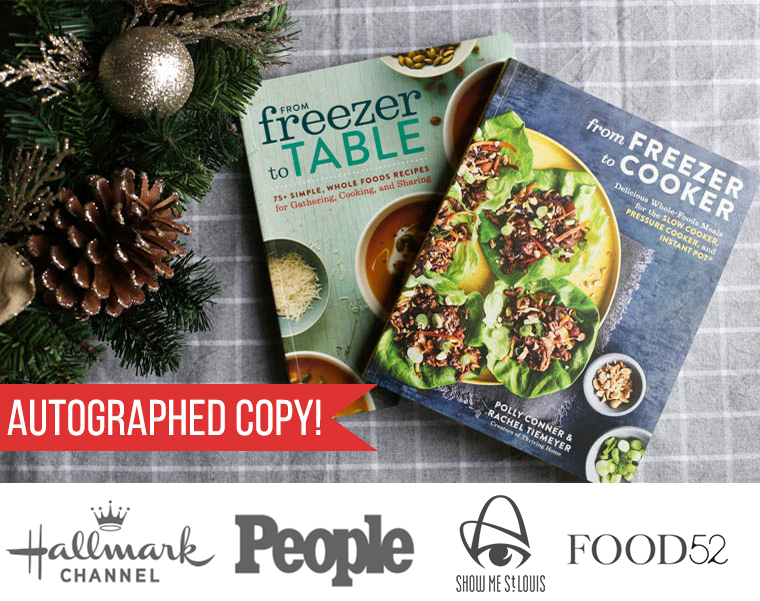 Cookbooks: From Freezer to Table & From Freezer to Cooker