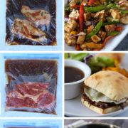 dump and go crock pot freezer meals