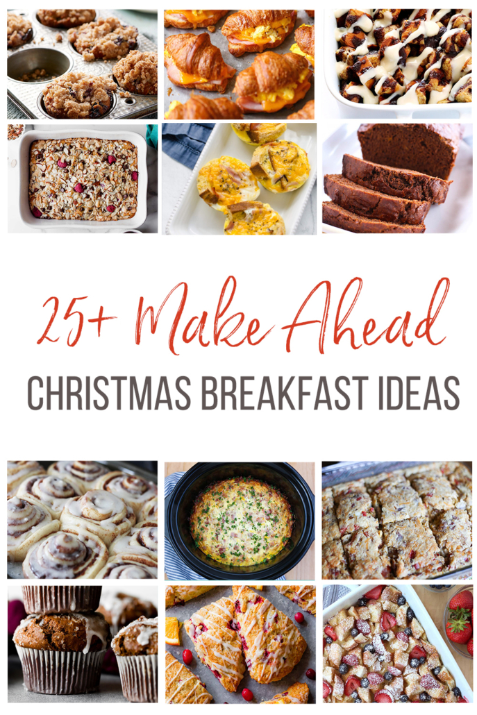 Pin image for 25 Make Ahead Christmas Breakfas Ideas