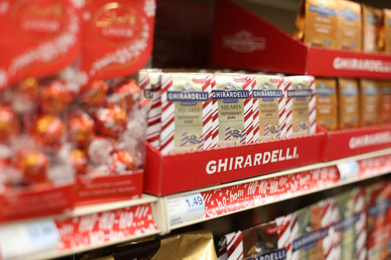Specialty chocolates at Hy-Vee