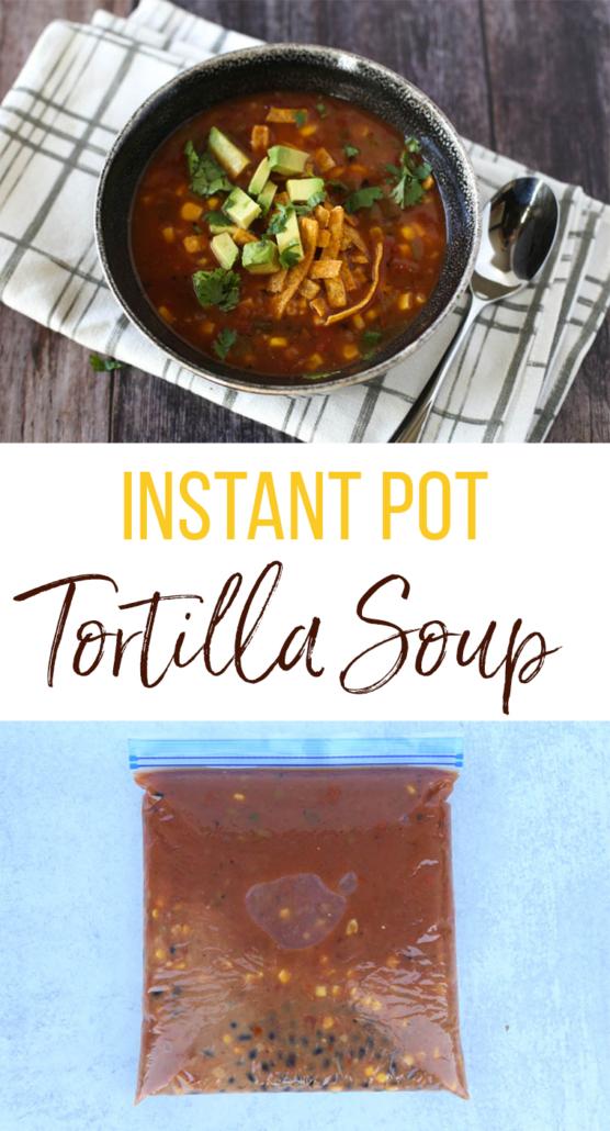 Instant Pot Vegetarian Soup