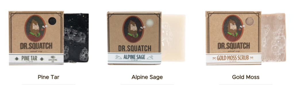 Dr. Squash Cold Pressed Soaps