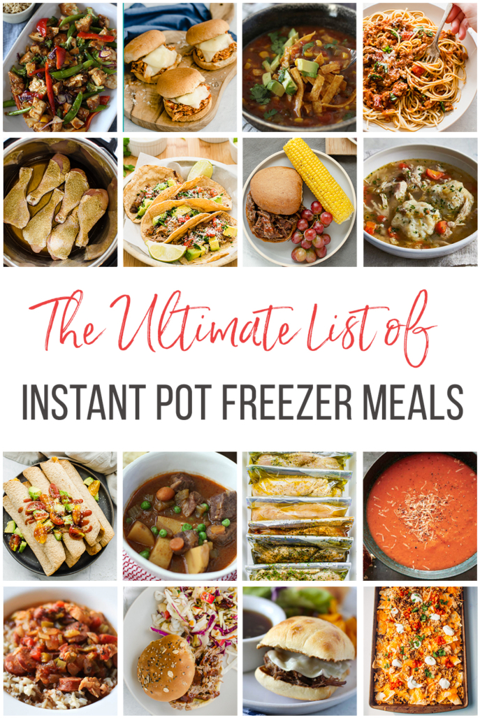 16 images of Freezer meals for the Instant Pot