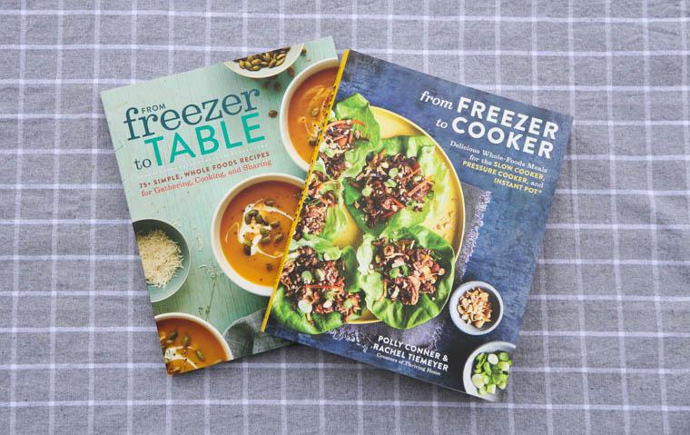 Freezer meal cookbooks