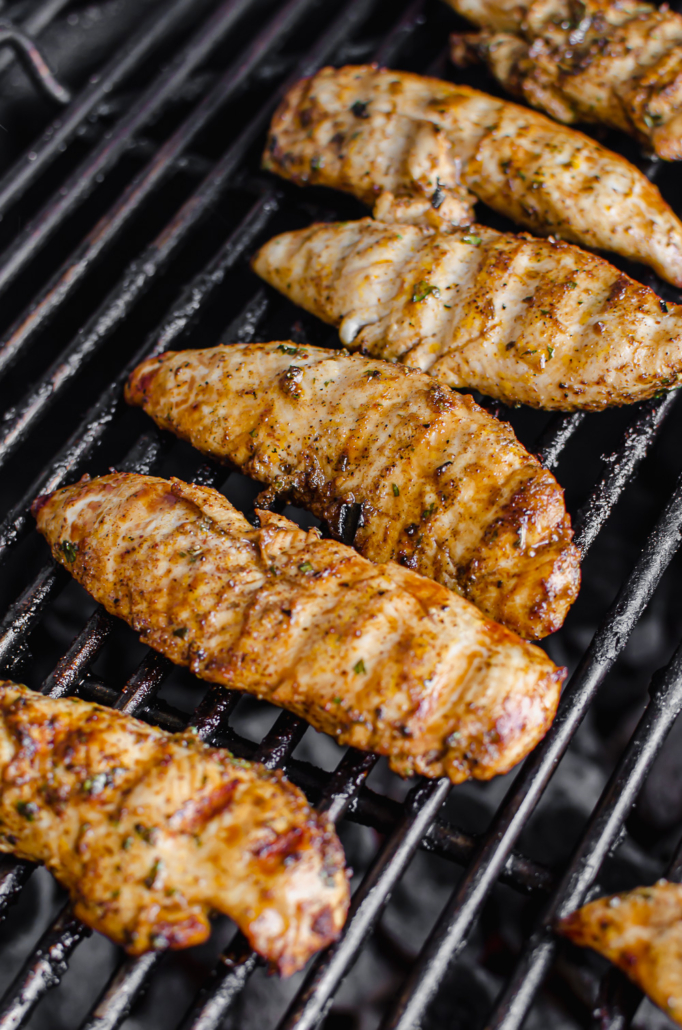 Southwest Grilled Chicken Tenders