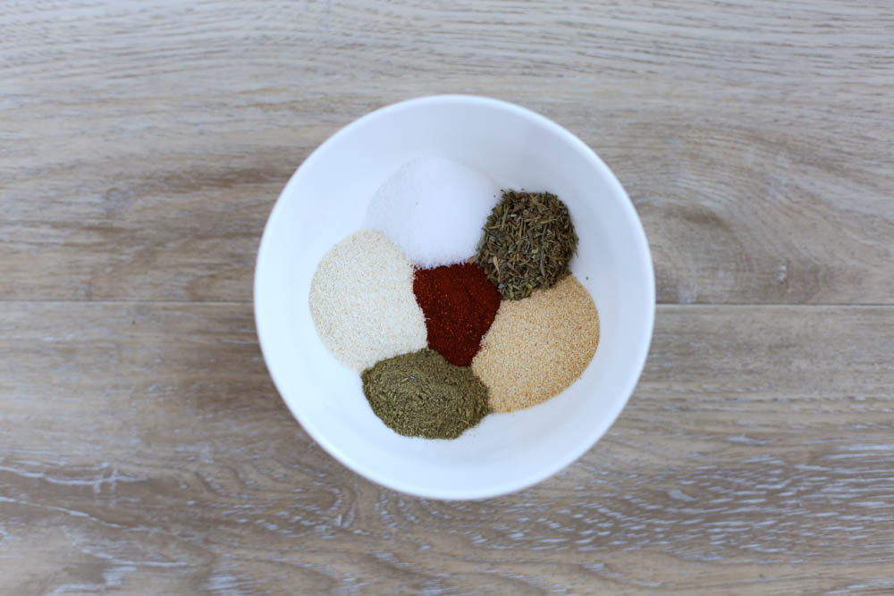 Seasonings for Italian Baked Chicken Thighs