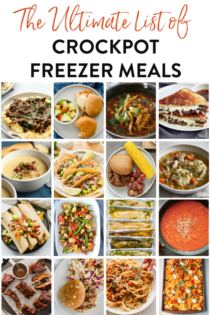20+ Crockpot Freezer Meals