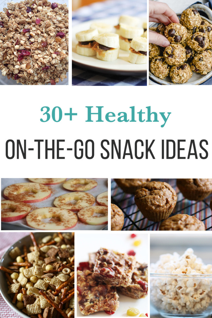Healthy Snacks on the go